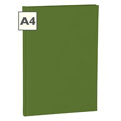 Notebook Classic (A4) book linen cover, 144 pages, ruled, irish