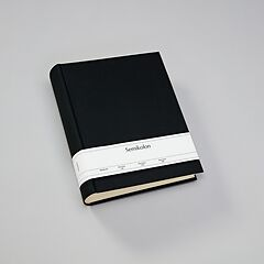 Album Large, linen cover, 130 pages, cream mounting board, glassine paper, black