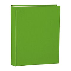 Album Large, linen cover, 130 pages, cream mounting board, glassine paper, lime