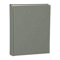 Album Large, linen cover, 130 pages, cream mounting board, glassine paper, grey