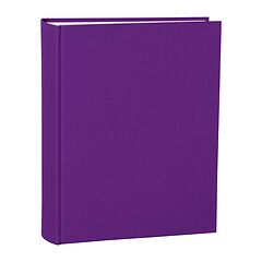 Album Large, linen cover, 130 pages, cream mounting board, glassine paper, plum