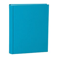 Album Large, linen cover, 130 pages, cream mounting board, glassine paper, turquoise