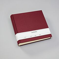 Album Xlarge, book linen cover, 130 pages, cream mounting board,glassine paper,turquoise