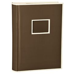 300 Pocket Album, 100 pages, photos 10 x 15 cm, brown