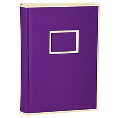 300 Pocket Album, 100 pages, photos 10 x 15 cm, plum