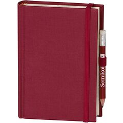 Travel Diary Petit Voyage, 272 pages of laid paper, plain, burgundy