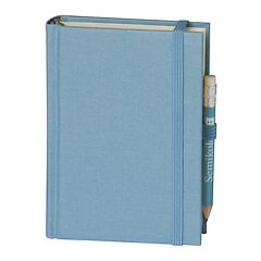 Travel Diary Petit Voyage, 272 pages of laid paper, plain, ciel