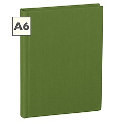 Notebook Classic (A6) book linen cover, 144 pages, plain, irish