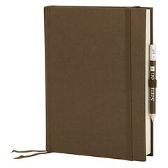Travel Diary Grand Voyage, 304 pages laid paper, plain, brown