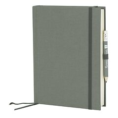 Travel Diary Grand Voyage, 304 pages laid paper, plain, grey