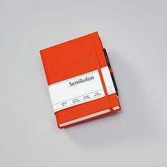 Travel Diary Grand Voyage, 304 pages laid paper, plain, orange