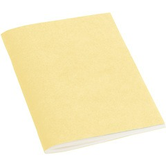 Filigrane Journal A6 with laid paper, 64 pages, plain, chamois