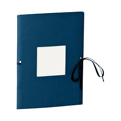 Photo booklet, portrait format, 10 sheets, 10 x 15cm, marine