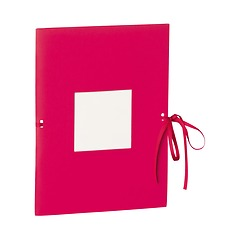 Photo booklet, portrait format, 10 sheets, 10 x 15cm, pink