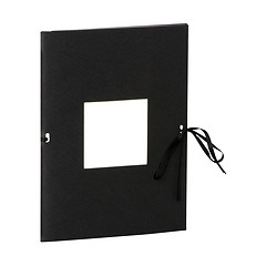 Photo booklet, portrait format, 10 sheets, 10 x 15cm, black