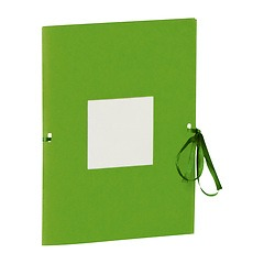 Photo booklet, portrait format, 10 sheets, 10 x 15cm, lime