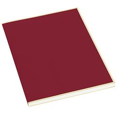 Paperpad (A4) 100 sheets, 80g/m², burgundy