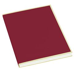 Paperpad (A5) 100 sheets, 80g/m², burgundy