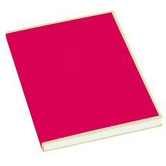 Paperpad (A5) 100 sheets, 80g/m², pink