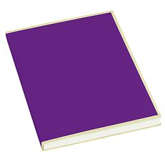 Paperpad (A5) 100 sheets, 80g/m², plum