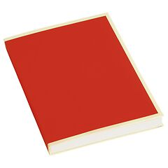 Paperpad (A6) 100 sheets, 80g/m², red