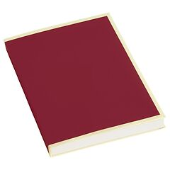 Paperpad (A6) 100 sheets, 80g/m², burgundy