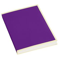 Paperpad (A6) 100 sheets, 80g/m², plum