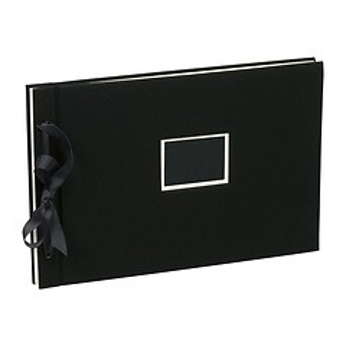 Digital & Classic Album Set (A4) 20 p. cream white sheets, transparent pockets, black