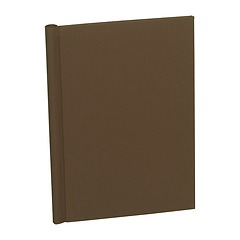 Classical European Clampbinder (A4) 1-100 sheets, brown