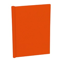 Classical European Clampbinder (A4) 1-100 sheets, orange