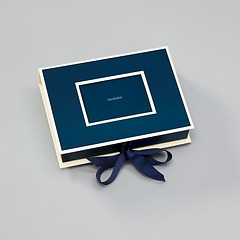 Small Photobox with cut out window, marine