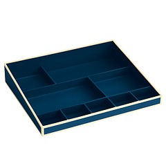 Desktop Organizer, 9 compartments, marine