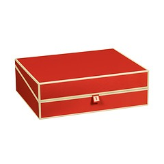 Document Box (A4) and letter size, red