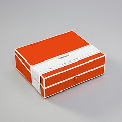 Document Box (A4) and letter size, orange