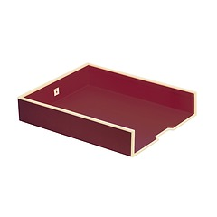 Paper Tray (A4)  burgundy