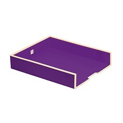 Paper Tray (A4)  plum