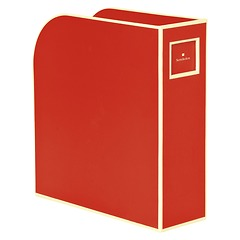 Magazine Box (A4) and letter size, red