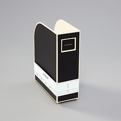 Magazine Box (A4) and letter size, black