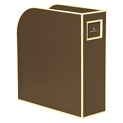 Magazine Box (A4) and letter size, brown