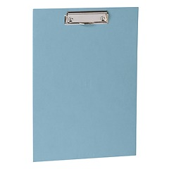 Clipboard with metal clip, efalin cover, ciel
