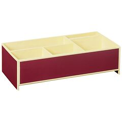 Stackable Mini - Tray burgundy
