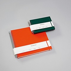 Maxi Mucho Album Black, 90 black pages, booklinen cover, brown