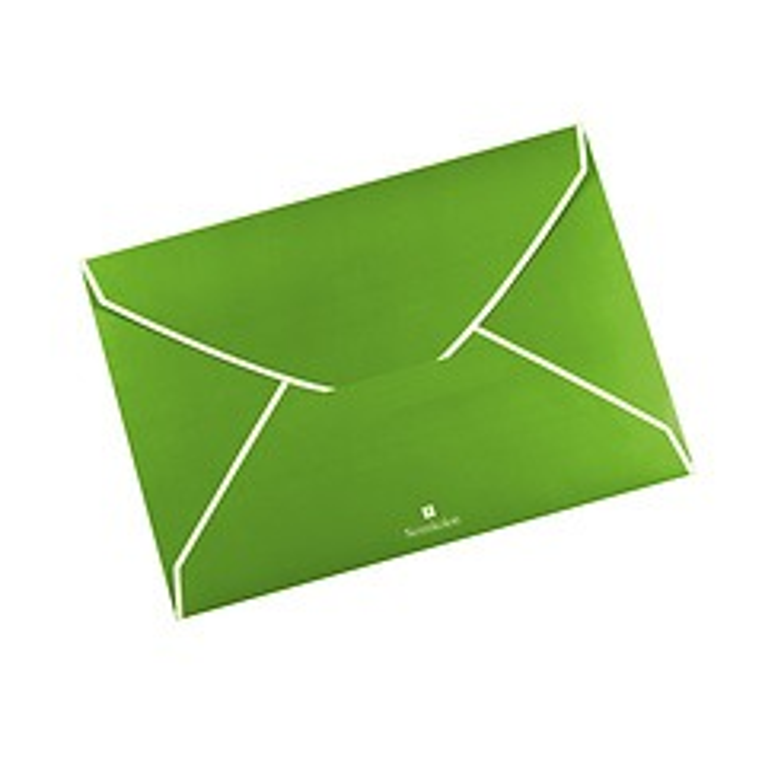 Set of 2 Envelope, black