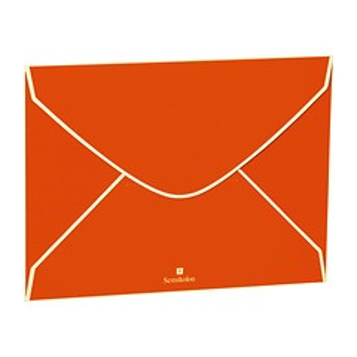 Set of 2 Envelope, orange