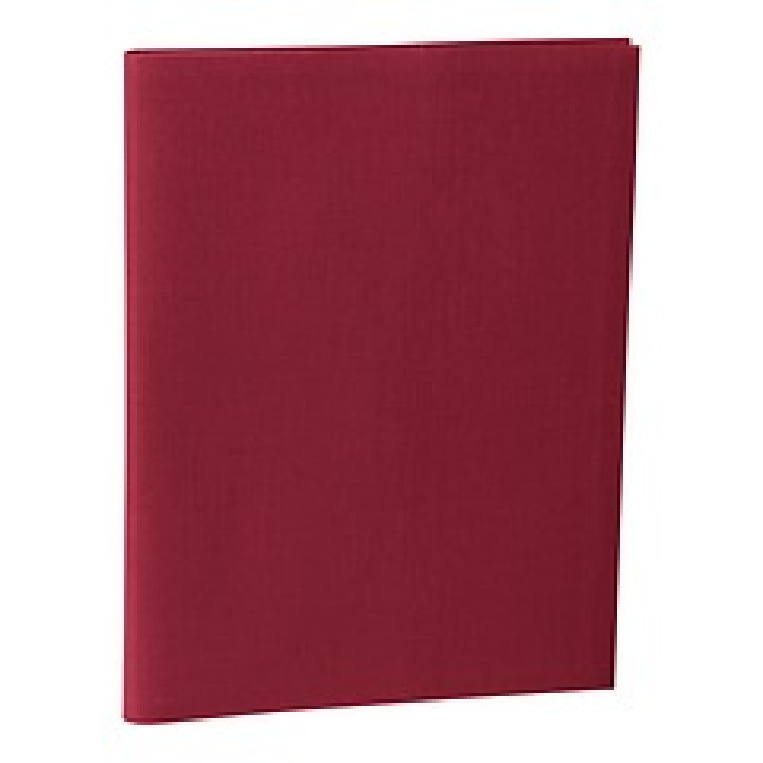 Portera Presentation Folder, 30 transparent pockets, burgundy