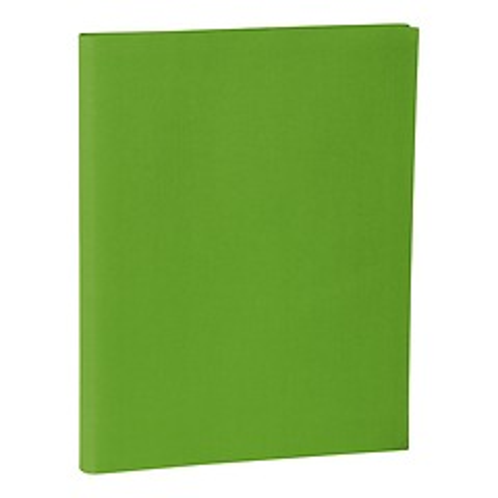 Portera Presentation Folder, 30 transparent pockets, lime