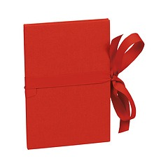 Leporello small, 14 photos - size 10 x 15cm, red