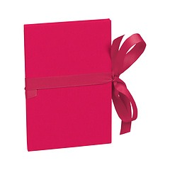 Leporello small, 14 photos - size 10 x 15cm, pink
