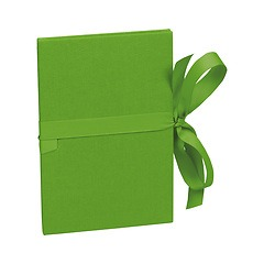 Leporello small, 14 photos - size 10 x 15cm, lime
