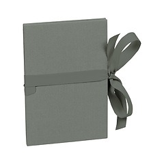 Leporello small, 14 photos - size 10 x 15cm, grey